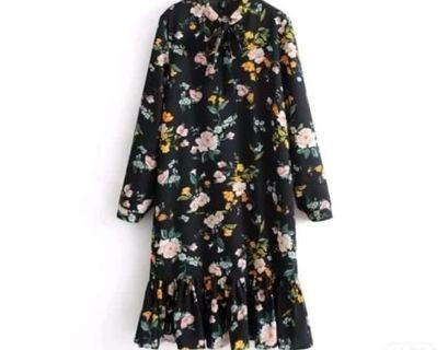 Dress bunga bunga