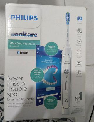 Philips sonicare flexcare platinum HX9191/06 sonic toothbrush electric toothbrush
