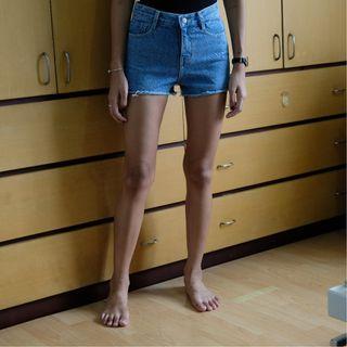 Denim Short Pants