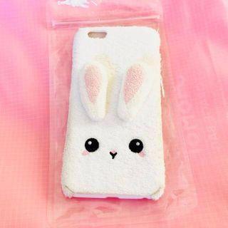 Cute 3D soft fur bunny iPhone 6/S PLUS phone case