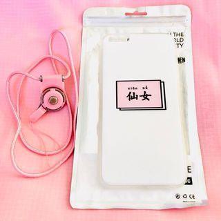 Cute pink iPhone 6/S PLUS phone case