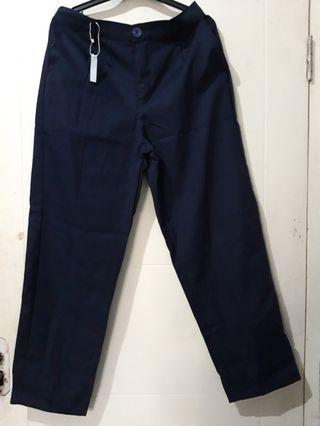 JUMBO BAGGY PANTS NAVY