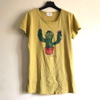 🚚 韓國代購 仙人掌短袖T恤