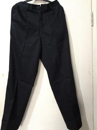 JUMBO BAGGY PANTS BLACK