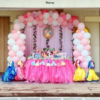 🚚 Princess Theme Setup