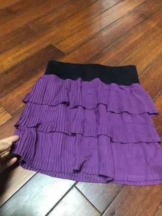 🚚 百摺蛋糕短裙