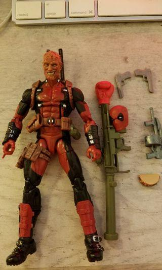1:12 figure marvel legends deadpool 死侍