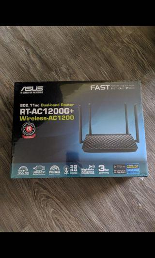 Asus wireless router. Model: AC1200