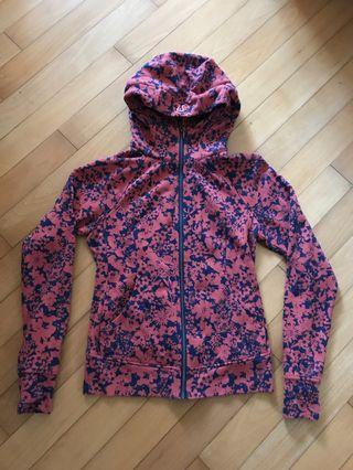 Lululemon women's hoodie (fleece with print)