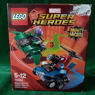 Unopened LEGO SH 76064 Mighty Micros: Spiderman Vs Green Goblin
