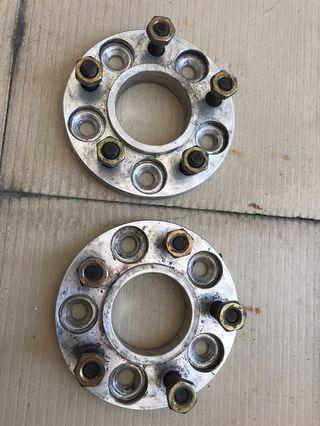 Wheel spacer 15mm