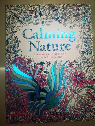 Calming Nature Adult Colouring Book