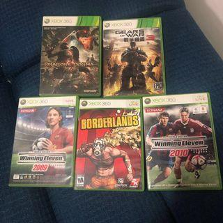 Xbox 360 連全部game