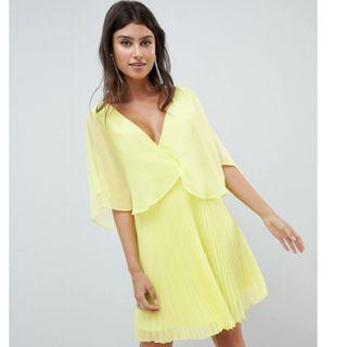 🚚 Asos Design yellow flowy dress