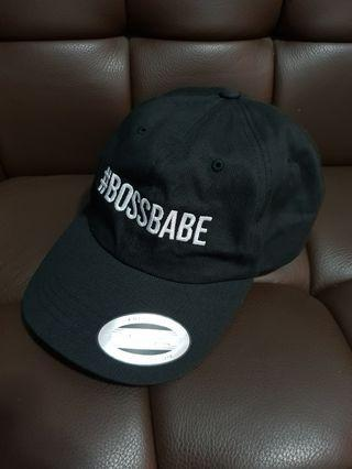 Authentic Yupoong The Classics Boss Babe Cap