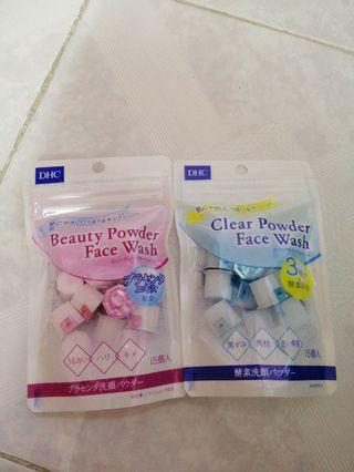 DHC Powder face wash $30@1包 每包15個