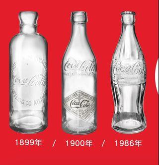 20 inches Height Coca-Cola Giant bottle - Straight sided