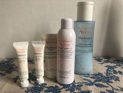 Avene both oil skin care