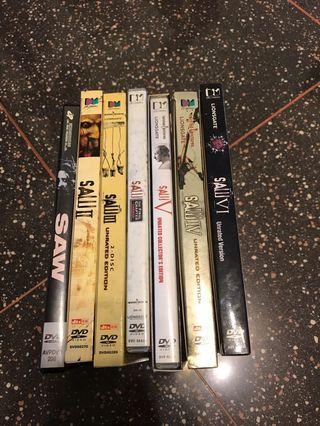恐懼鬥室DVD 1-7集,20x1