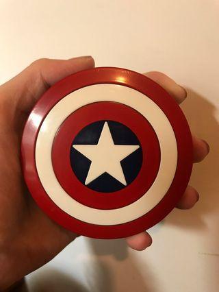 🚚 美國🇺🇸隊長造型隱眼盒