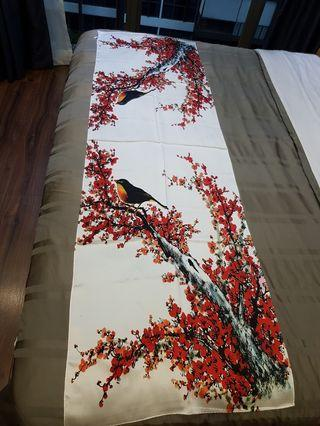 💯 Beautiful elegant silk scarf