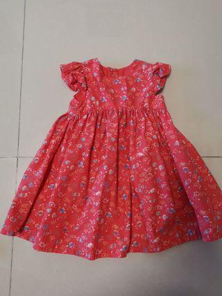 Baby Girl Dress fishes 9-12mths