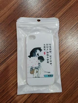 Cat鏟屎官 iphone4/4s phonecase