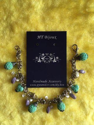 自家製手作日本珠charms手鏈 Handmade charms bracelet with Japanese beads