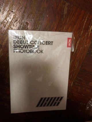 🚚 WTS IKON DEBUT CONCERT SHOWTIME PHOTOBOOK
