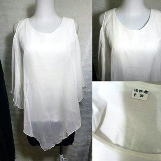 White Woman Top