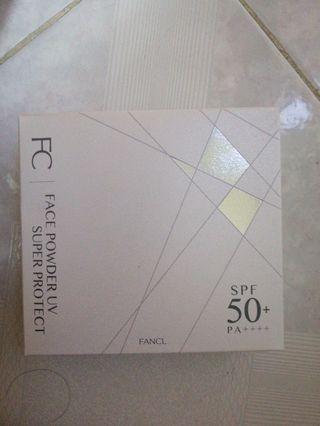 Fancl 防曬粉 (補充裝)一盒8g x2 $100 連1個粉扑