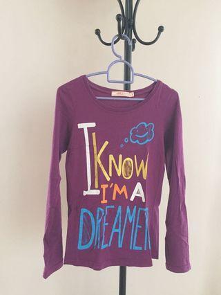 (S) Purple Longsleeve Shirt