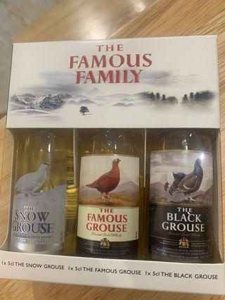 The Famous Grouse(a set of 3)