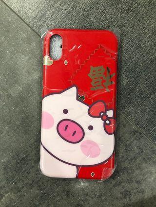 BN Iphone X 福 Pig Case