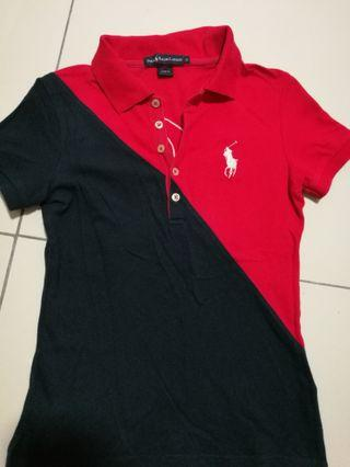 💯 Authentic Blue Red Polo Ralph Lauren Polo T