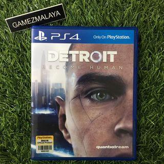 [USED] PS4 DETROIT BECOME HUMAN - (GAMEZMALAYA)   PS4 USED GAMES