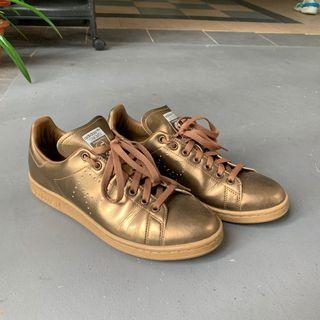Raf Simon x Adidas Stan Smith Bronze/Gold