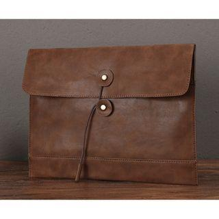 Cosimo Premium Leather Vintage Clutch Bag