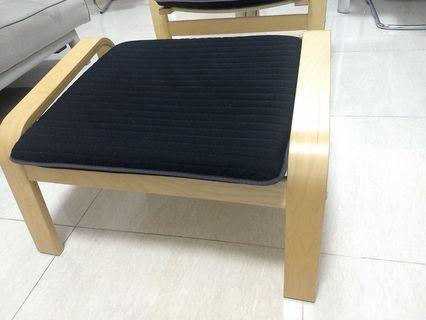🚚 Ikea Comfort Arm Chair with Leg Rest