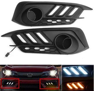 Honda Civic tenth generation Daytime running lights
