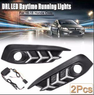 Honda Civic 2016-18 tenth gen Daytime running lights