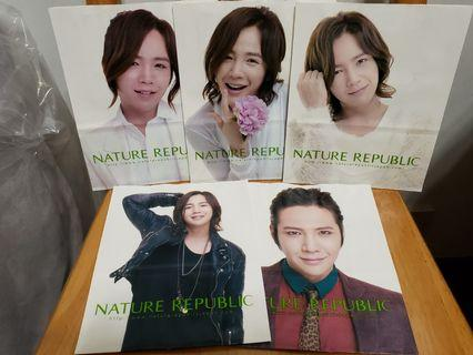 張根碩Nature Republic紙袋(JANG KEUN SUK)