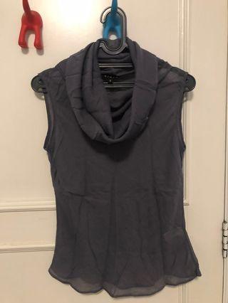 Sleeveless top Biasa blouse wanita