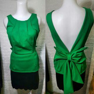 Green Woman Top