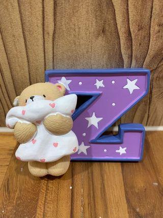 Forever Friends Alphabet Figurine - E