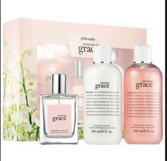 PHILOSOPHY Amazing Grace Fragrance + Body Gift Set (Limited Edition)