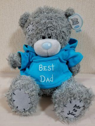 "Me to You plush toy (""Best Dad"" shirt - best gift for father's day)"