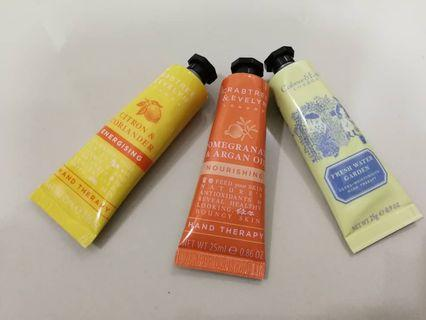 Crabtree & Evelyn Hand Cream * 3