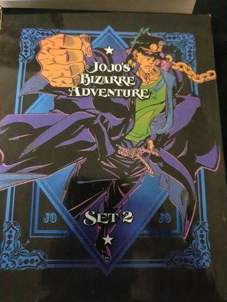 Jojo's bizarre adventure set 2 blu-ray animated series