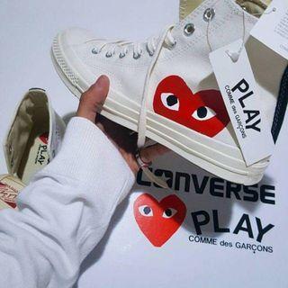 Converse CDG High Cut White